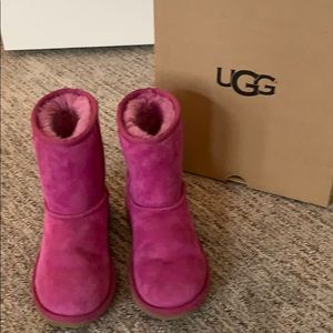 Pink UGGs - great condition!